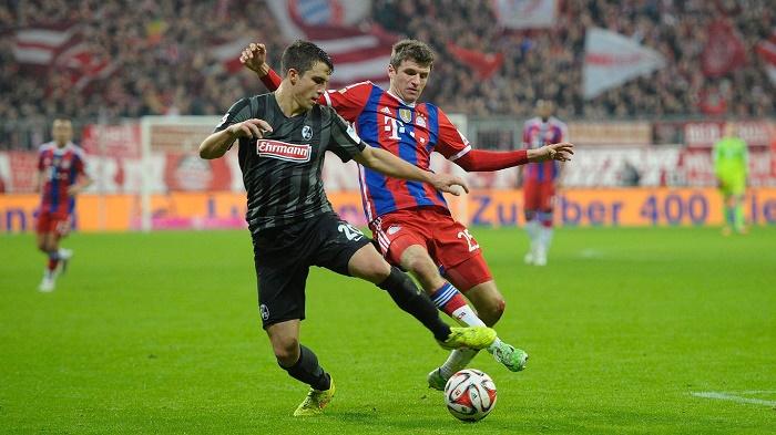 弗赖堡vs拜仁数据前瞻:拜仁对升班马26场连胜