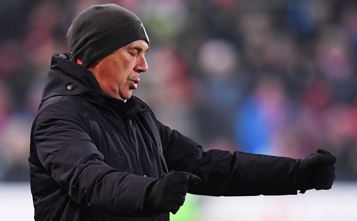 安切洛蒂:喜欢拜仁比赛中展示出的意志