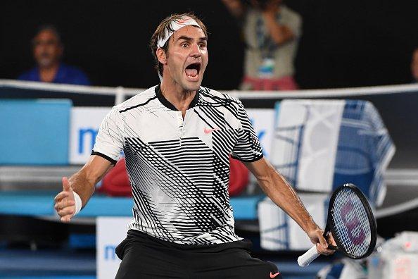 费德勒五盘逆转锦织圭晋级澳网男单八强