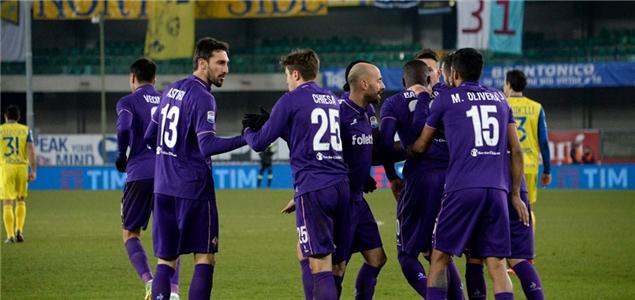 特略基耶萨破门,佛罗伦萨客场3-0切沃