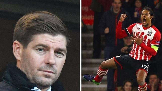 杰拉德:利物浦需要圣徒中卫范戴克