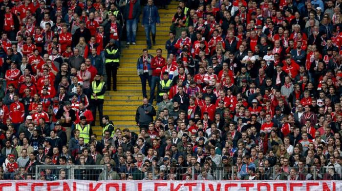 拜仁慕尼黑因球迷燃放烟火被罚款1.5万欧