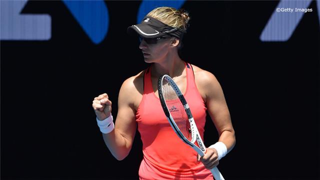 鲁西奇力克普利斯科娃跻身澳网四强
