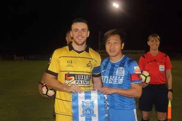 热身赛:汪嵩扎哈维建功,富力3-2澳洲球队