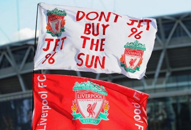 利物浦全面封杀《太阳报》,记者不得进球场