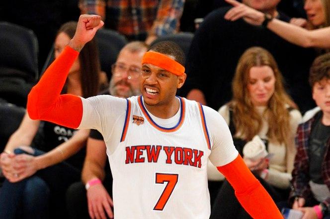 Carmelo Anthony:贏球對於周遭發生的一切來說是安慰