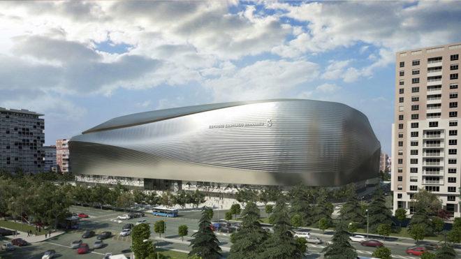 马德里政府批准伯纳乌球场改建工程