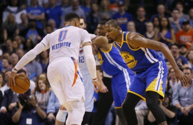 Kevin Durant談和Russell Westbrook空接配合:好球