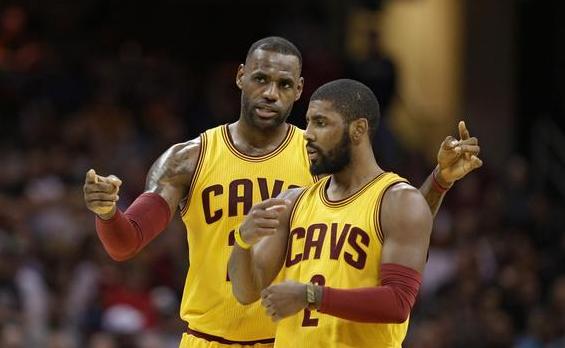 LeBron James和Kyrie Irving成為隊友以來首次上半場同時得到20+