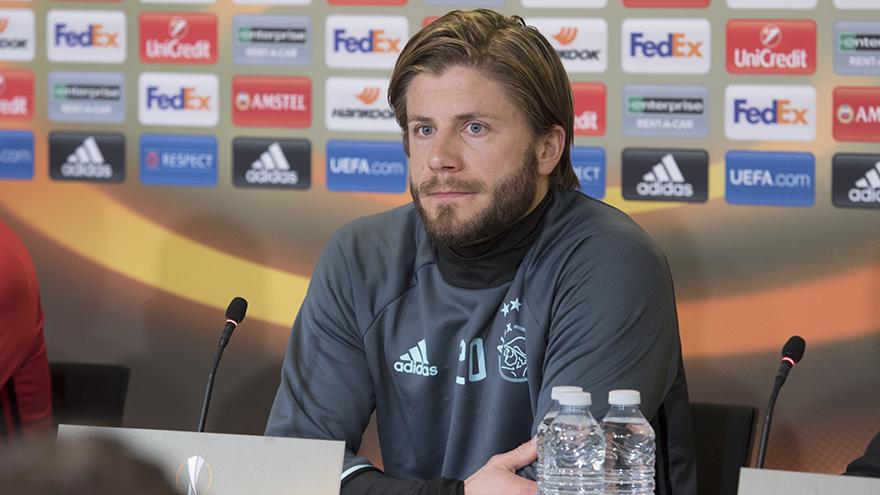 舍内:与丹麦球队交手很特别