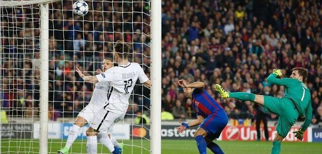 诺坎普奇迹,巴萨6-1战胜巴黎,总比分6-5淘汰巴黎