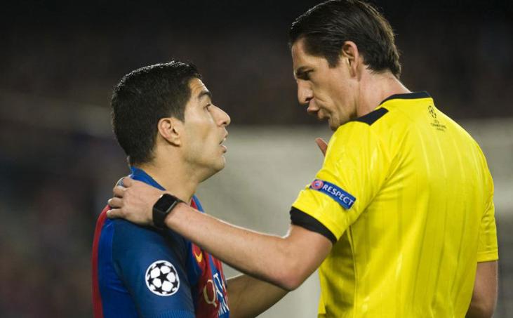马卡报:欧足联或将内部处罚执法巴萨vs巴黎的裁判团队