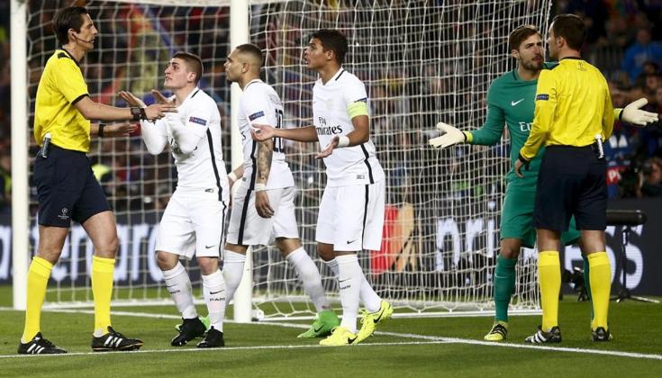 每体:欧足联不会处罚执法巴萨vs巴黎的主裁判