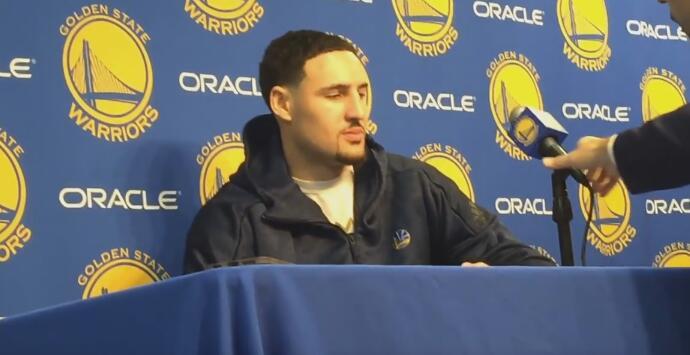 Klay Thompson:我們在努力守住第一的位置
