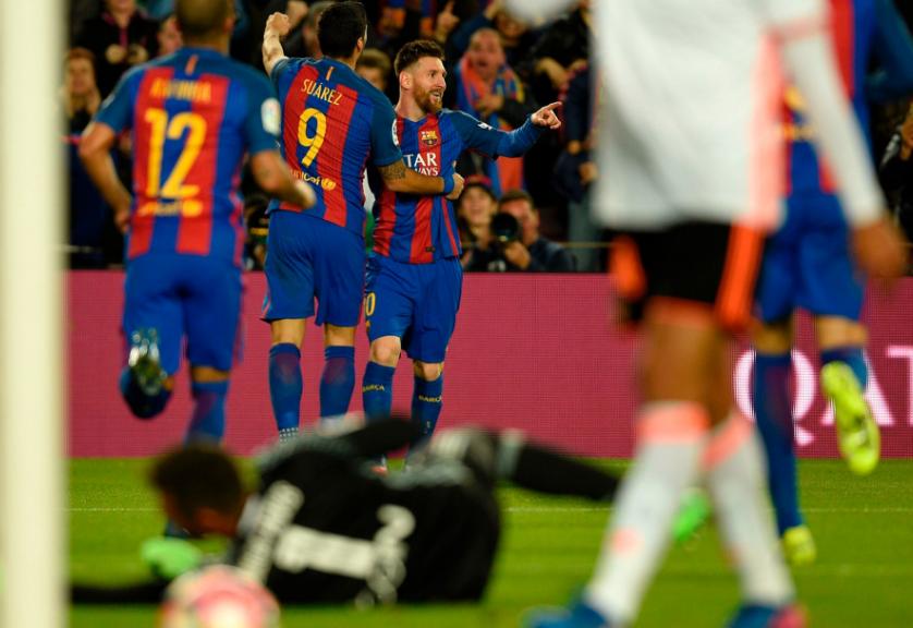 梅西连续8个赛季单赛季进球超过40个