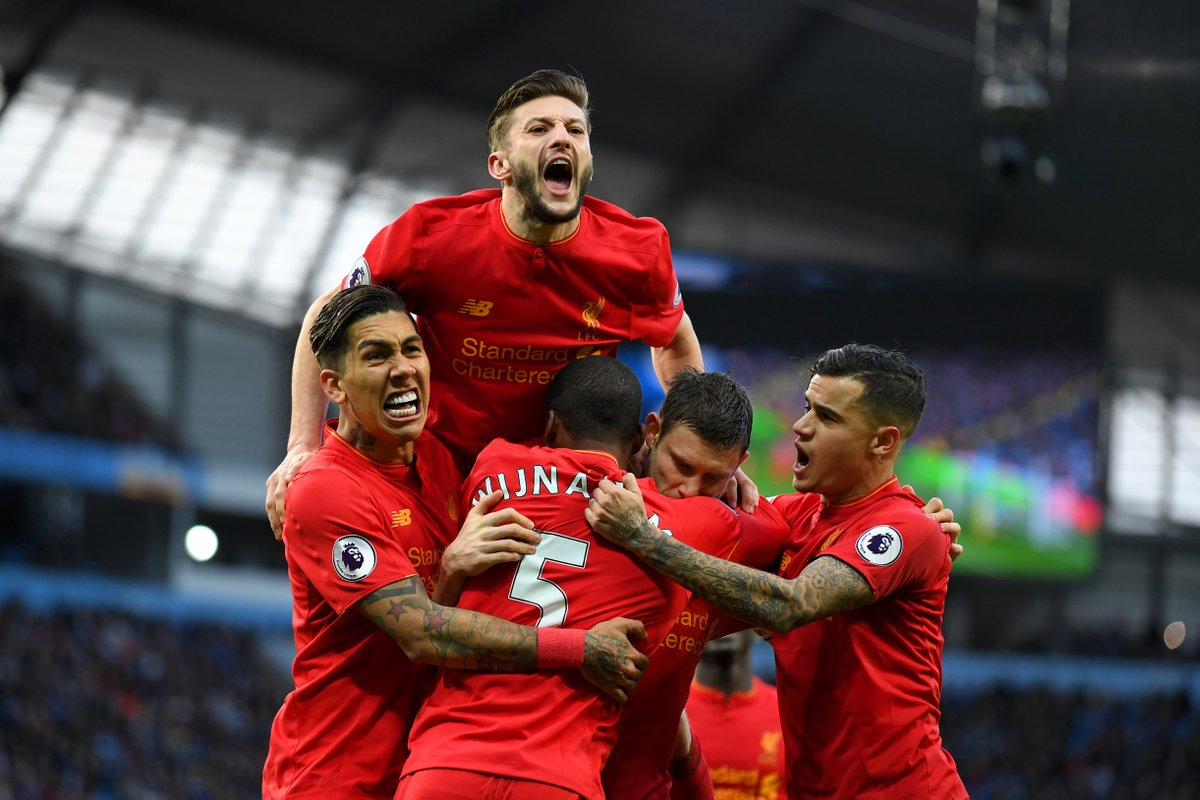 十场不败!利物浦同前六球队强强对话笑傲英超