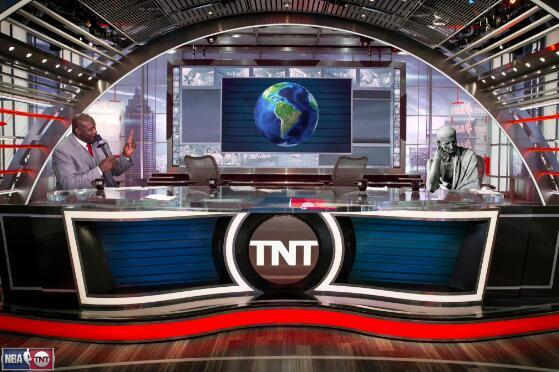 TNT發趣圖調侃奧尼爾的地平說