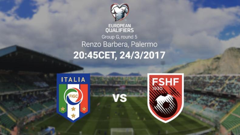 意大利vs阿尔巴尼亚首发:贝洛蒂领衔锋线