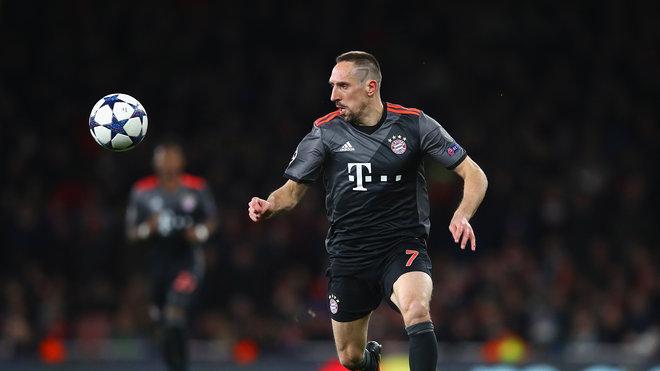 里贝里:退役后我想在拜仁当年轻人的教练