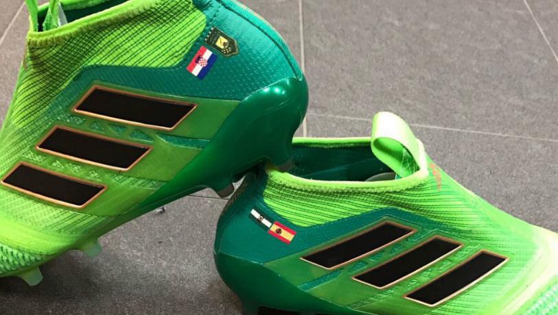 拉基蒂奇发布新鞋,将女儿生日印在鞋上