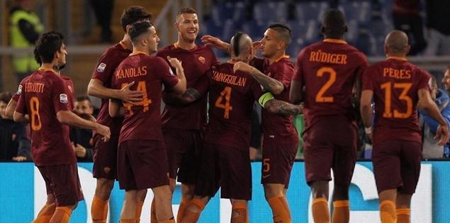 哲科梅开二度,罗马主场2-0力克恩波利