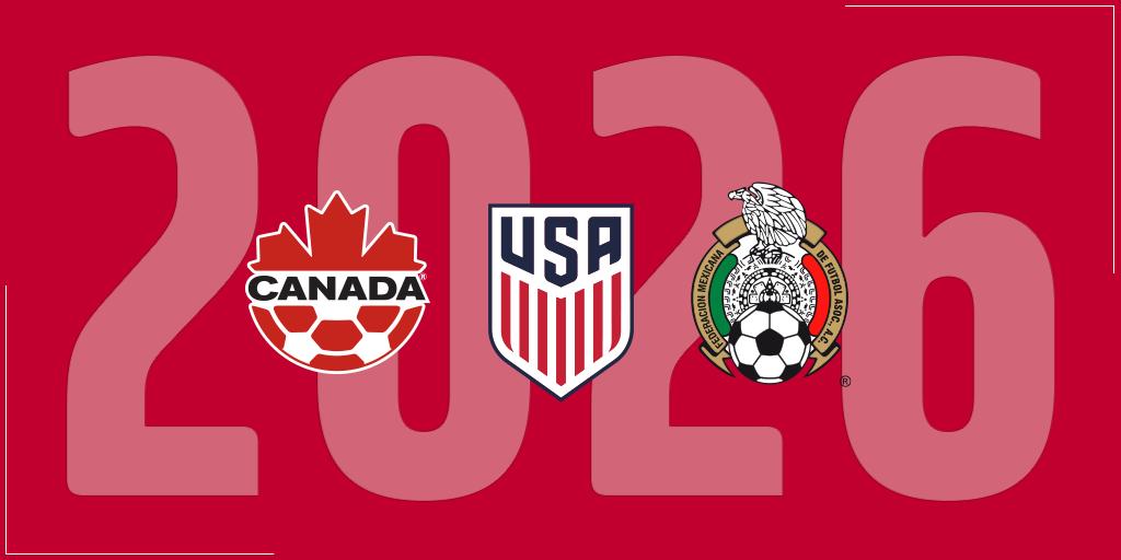 官方:北美三国正式宣布联合申办2026年世界杯