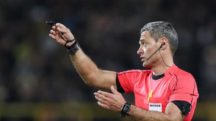 斯洛文尼亚主裁将执法多特与摩纳哥次回合比赛