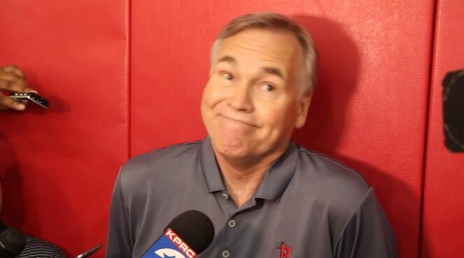 德安东尼:我不担心哈登的表现
