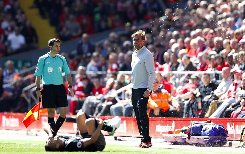 克洛普:对手没有任何机会,利物浦本可以赢球