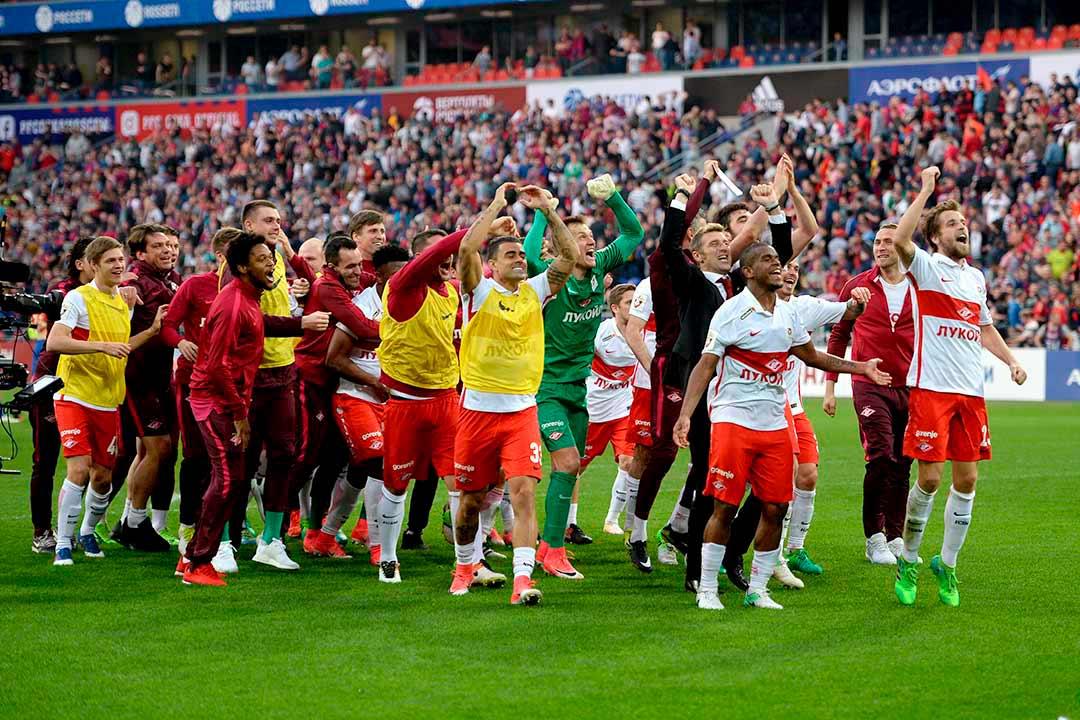尤文名宿率领莫斯科斯巴达夺得俄超联赛冠军