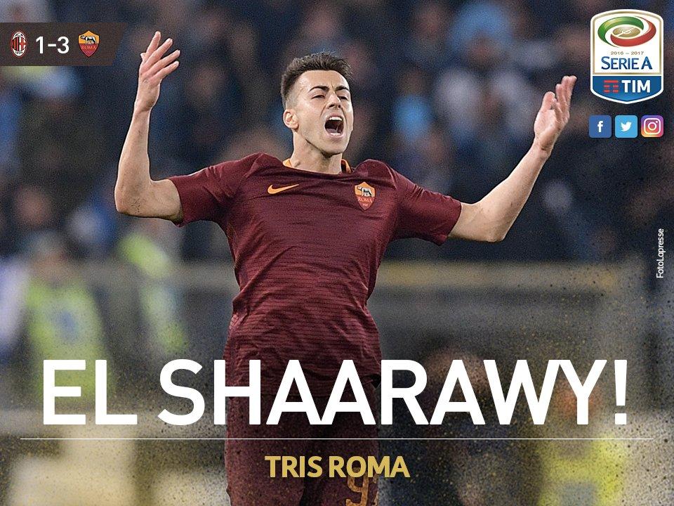 GIF:沙拉维替补建功,罗马3-1领先米兰