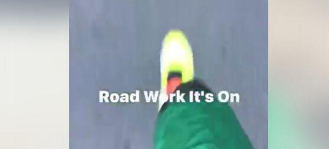 马布里晒训练视频:正在为最后一个赛季做准备
