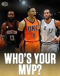 媒体发图:谁是你心目中的常规赛MVP ?