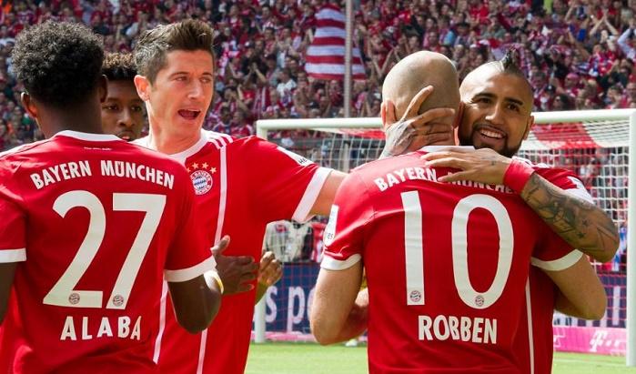 连续53场主场比赛进球,拜仁延续主场进球纪录
