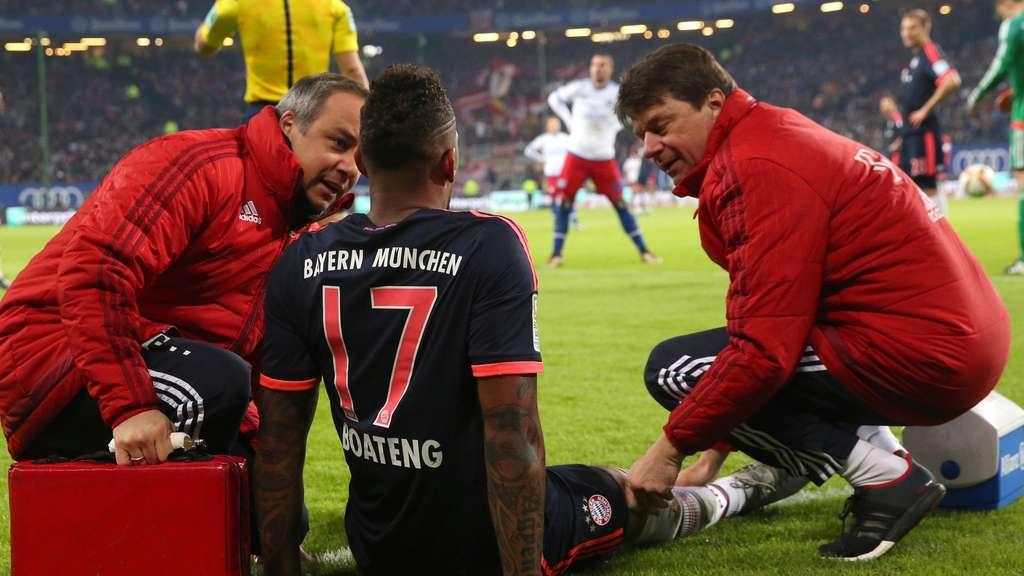 伤势无碍,博阿滕:已经为新赛季准备期准备好了