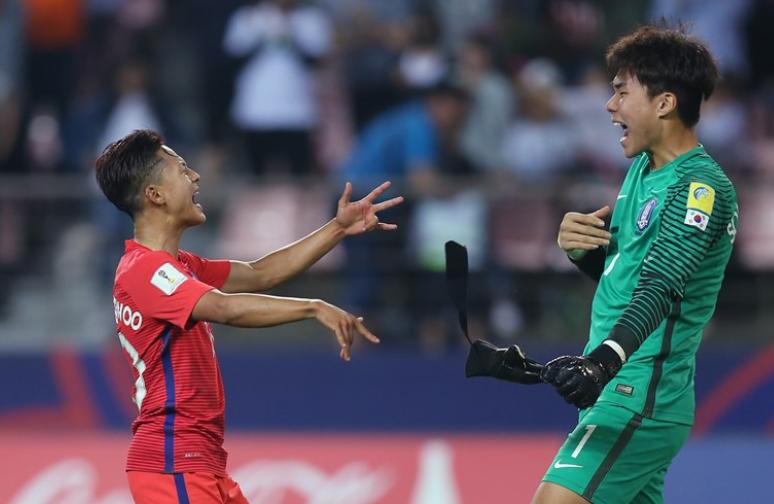 U20世界杯第4日A组:韩国胜阿根廷;英格兰战平