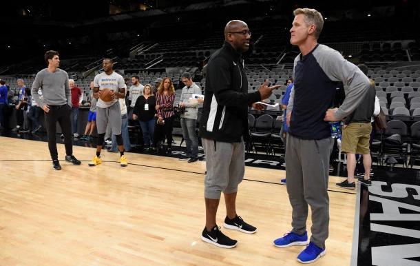 Steve Kerr:會更多使用Stephen Curry、Kevin Durant擋拆組合來錯位單打
