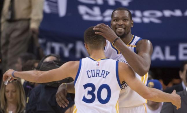 Kevin Durant談西決冠軍:感覺略不同,我們有更大目標