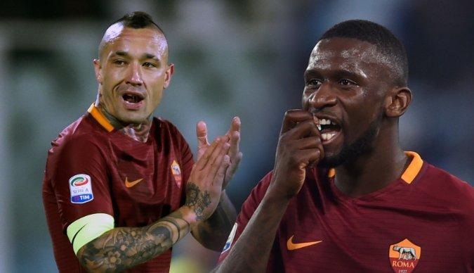 曝国米7000万欧求购两名罗马球员被拒