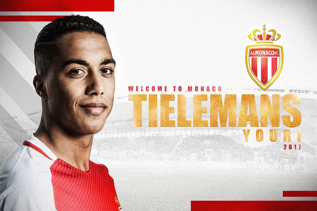 官方:摩纳哥签下比甲安德莱赫特中场蒂莱曼斯
