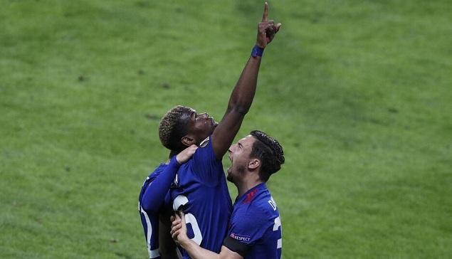 半场:博格巴破门,曼联1-0阿贾克斯