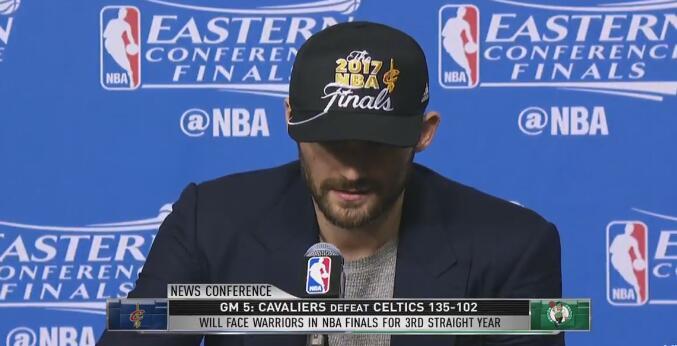 Kevin Love:連續三個賽季打進總冠軍賽是很特別的事情