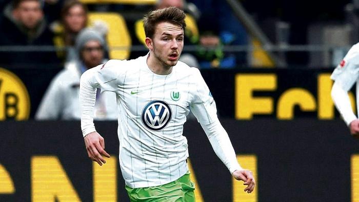 图片报:汉堡有意沃尔夫斯堡年轻边卫