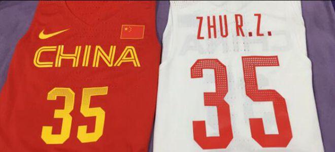 朱荣振将身披国家队35号球衣,晒图致敬杜兰特