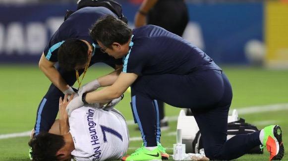 孙兴慜手臂骨折,将缺席热刺季前准备