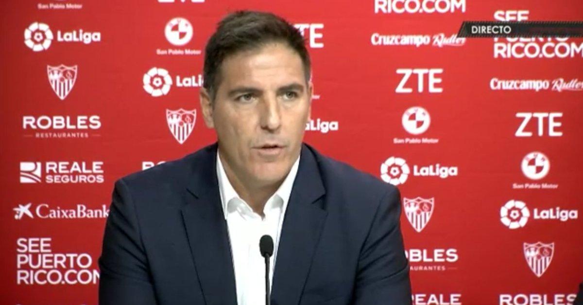 贝里佐:我热爱进攻,我的挑战就是让塞维利亚赢下去