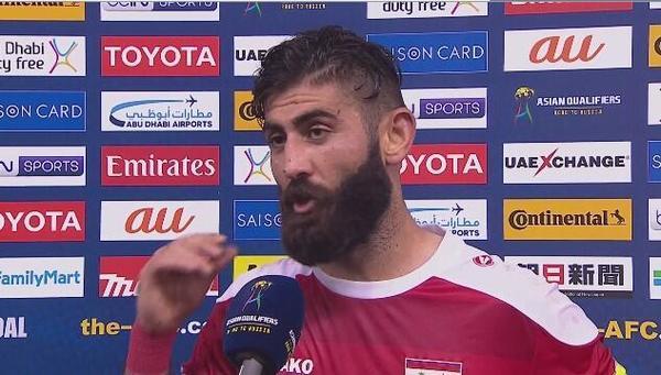 萨利赫:中叙两队都有出线机会,祝中国队好运