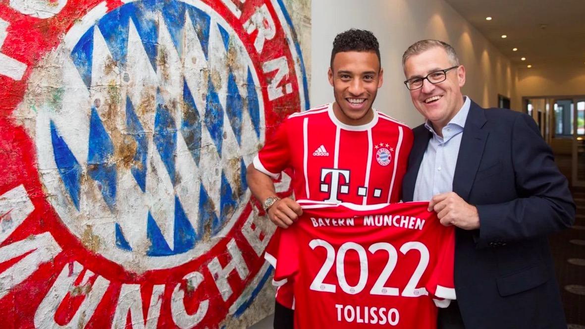 官方:拜仁签下里昂中场托利索,转会费4150万欧