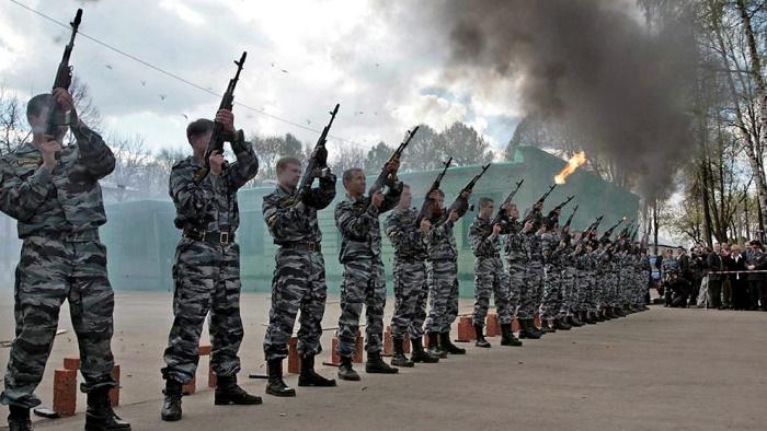 俄罗斯出动反恐部队全力保障德国队安全
