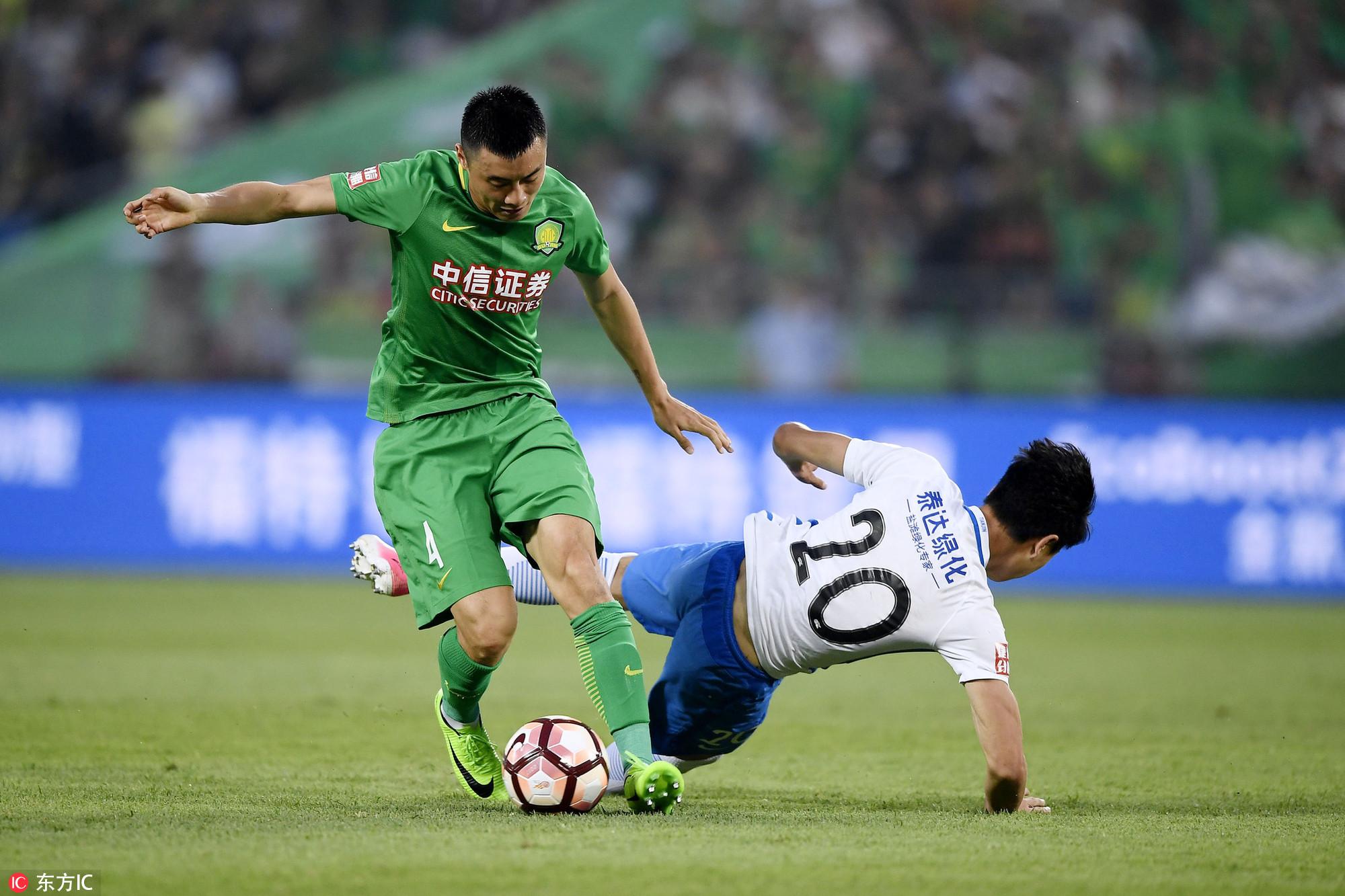半场:伊尔马兹头球破门,国安1-0泰达